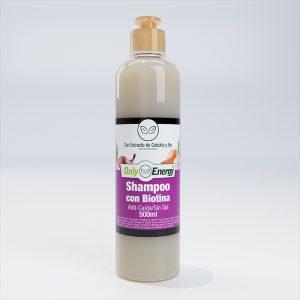 Shampoo Cebolla y ajo